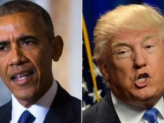 President Barack Obama (left) Republican Presidential Candidate Donald Trump. PHOTO: GETTYIMAGES