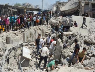 The death toll from Wednesday's attack in Qamishli is feared to rise. PHOTO: REUTERS