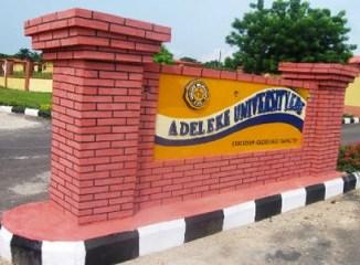 adeleke-university