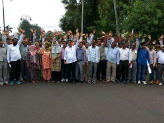 Members of the Dalit community have protested against the assault on the woman. PHOTO: BBC
