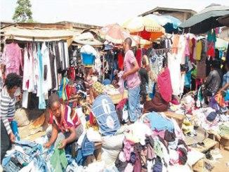 Traders at Katangowa Market