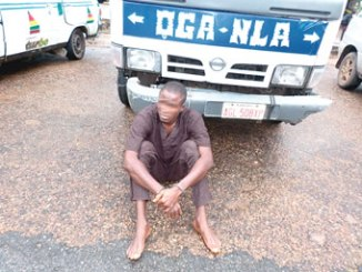 The suspect, Jimoh Taoreed