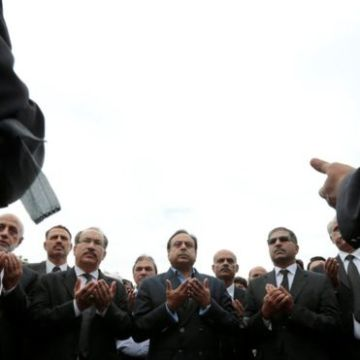 Lawyers in Pakistan remebering their dead and injured in the Quetta attack. PHOTO: REUTERS