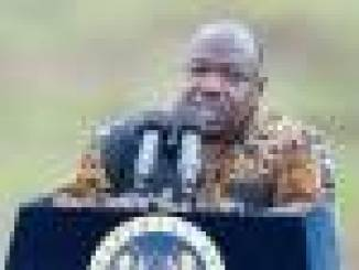 Gabon's president, Ali Bongo
