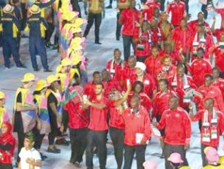 Kenya athletes at the Rio2016 Olympics