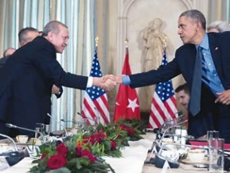 Barrack Obama (right) and Recep Erdogan