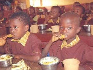 Osun State pupils benefiting from the scheme.