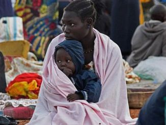 More than 185,000 people have fled since July, and more continue to leave. PHOTO: AFP