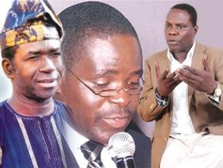 Tunde Adeniran, Ajetomobi and Olufemi Aduwo