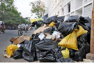 polythene-wastes