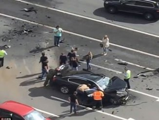 putin-crashed-car