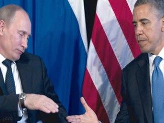 Russian President Vladmir Putin and United States President Barack Obama.