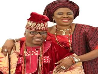 Mr. Yinka Fasuyi  and his wife, Dr. (Mrs.) Bisi Fasuyi.