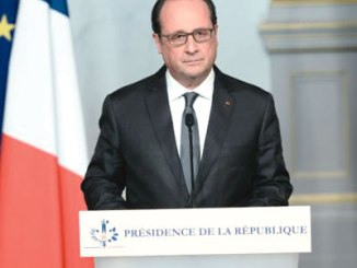 President Francois Hollande of France.