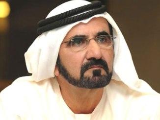 HH Sheikh Mohammed bin Rashid Al Maktoum.