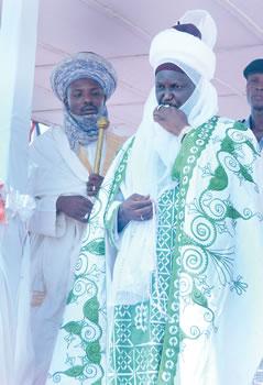 The new Emir of Borgu, Alhaji Haliru Muhammed Dantoro