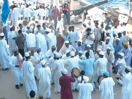 Celebration of Mawlid, the birthday of the Holy Prophet