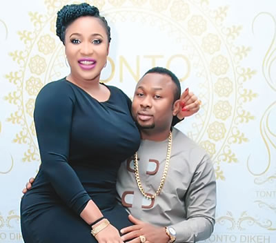 Marriage breakup: Tonto keeps mum