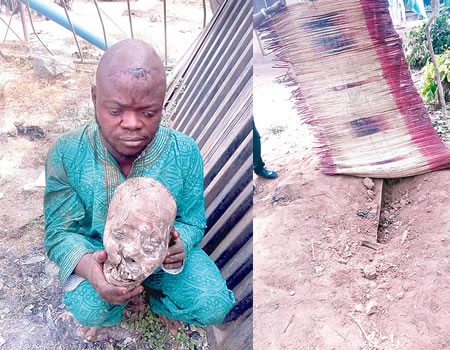 Why I went for corpse's head —Suspect arrested in Oyo