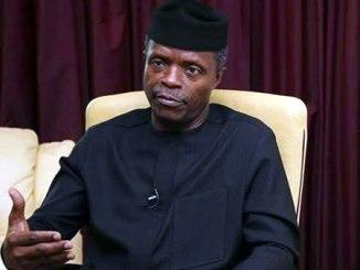 Acting President, Prof. Yemi Osinbajo