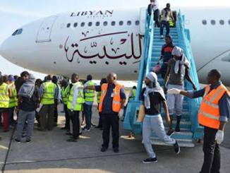 nigerians from libya