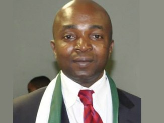 Mr Ikechukwu Anyene, the President of the Nigerian community, South Africa