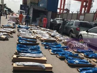 coup tin-can arms lagos state