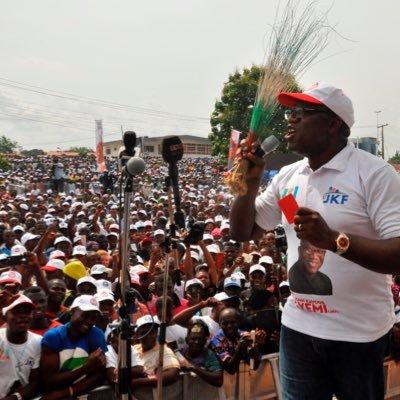 APC, Governor Fayemi, Fayemi presidential campaign
