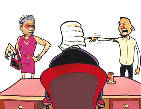 wife turns to cheat, ccourt, family, cut me with knife court wife