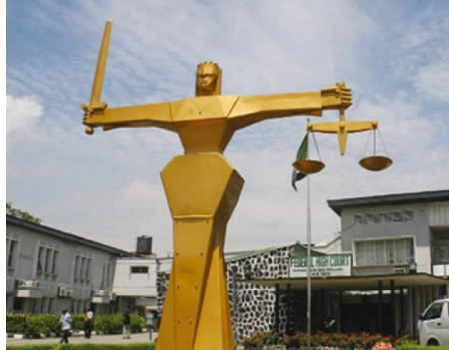 Court remands father, 53-year-old arraigned, SDP's leadership, Court acquits unstable man, Court strikes out charges, You have a case to answer, Foreign debts recovery, restraining NPA from INTELS' berths, tiv-Jukun crisis, Court fixes November 30, Court convicts seven, fake lawyer, Court adjourns TPMS trial, Court dismisses suit, NULGE, Malabu oil, FG, Aliyu Abubakar, Businessman, fraud, Court sentences 20-year-old girl, EFCC, Witnesses, Adoke, Adoke's trial, Appeal Court, deregistration of political parties, INEC, Civil servant, court, criminal trespass, intimidation, Court remands man, Technician , court, false information, police,court , job seeker, Court, stealing , mobile phone,Court remands farmer, Offa bank robbery trial , court, Trader remanded for raping girl, fraud, police, court, Ize-Iyamu, Court, EFCC, money laundering, Court adjourns N8.1bn suit, Pirates, fishing vessel, Lagos, Civil servant, motorist, Court,inflicting injuries, FG, Court, alleged forgery, Obinna Uzor, lawyer, EFCC, Oil deal, businessman, court,court, imprisonment , impersonation
