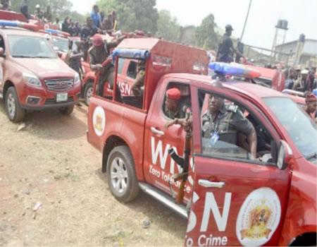 Amotekun, Osun, illegal miners, truckloads, marble stones,, Amotekun shooting police constable