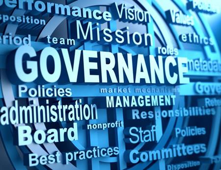 On good governance,