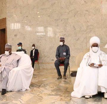 Emir of Gombe Alh Abubakar Shehu Abubakar III and Gombe State Governor