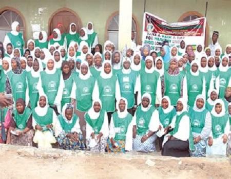 Ahmadiyya women, Ahmadiyya women tackle