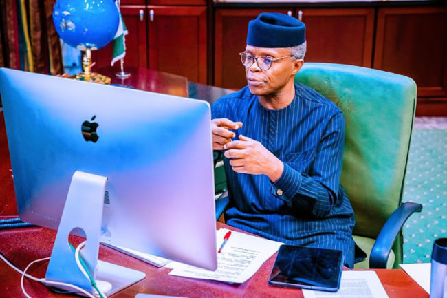 #EndSARS: Osinbajo heads NEC committee to interface with youths on employment, others, grow economy