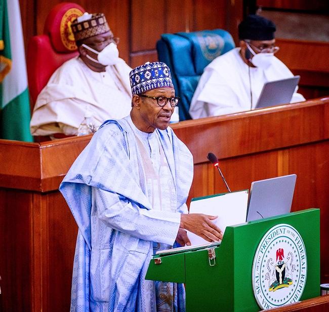 2021 budget, Buhari, borrowing