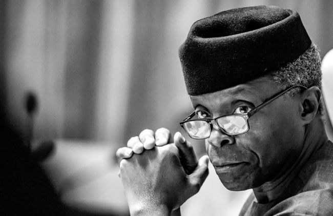 Osinbajo's committee, #endsars committee, Nigeria is stronger together