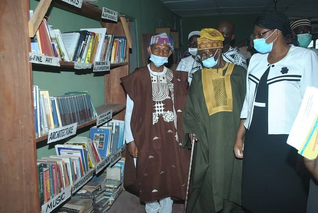 library to Ekiti govt
