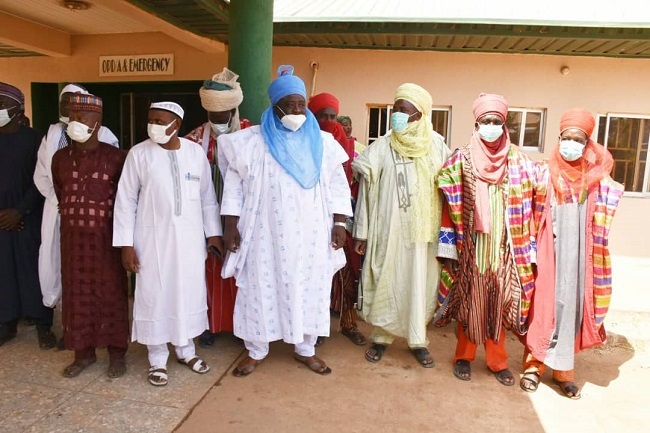 Be security conscious against foreign elements in your communities, Gov Mohammed warns traditional, community leaders