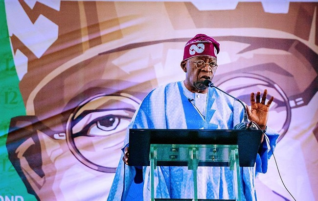 Tinubu, 50 million youths into Army