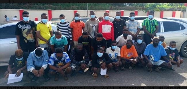EFCC arrests 34 'Yahoo boys' over internet fraud in Ondo