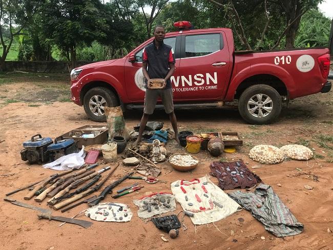 Amotekun arrests man with human parts