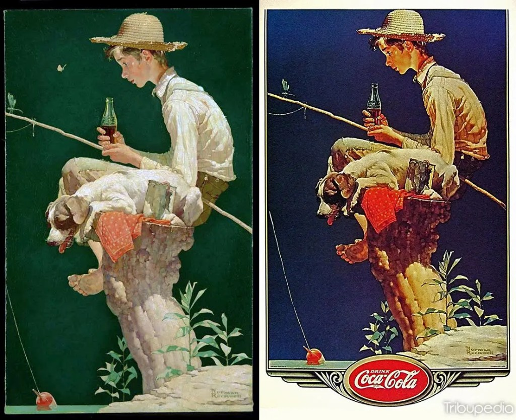 1935 Norman Rockwell Coca-Cola Advertising