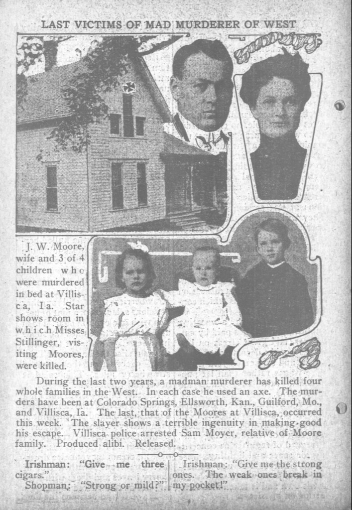 Photo of The Day Book Chicago Illinois 1912 Villisca Axe Murders