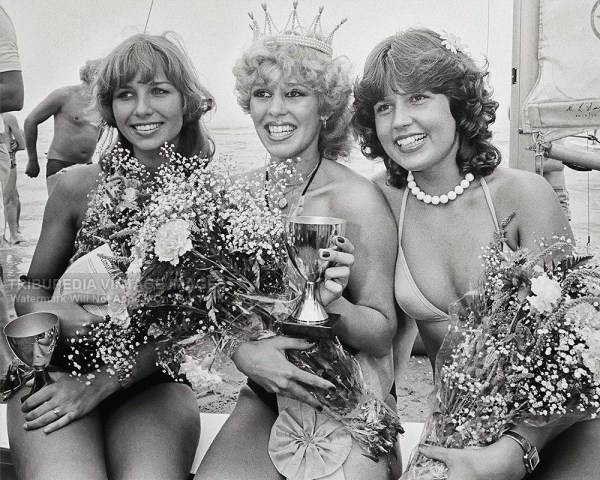 Vintage 1979 Photo Miss Beach Winners