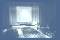 """Conference venue for the """"Mother of All Demos"""" (1968)"""