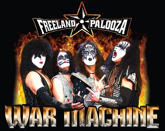 KISS by War Machine ⋆ WELCOME TO TRIBUTESVILLE