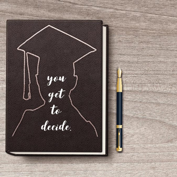 A Word to Graduates