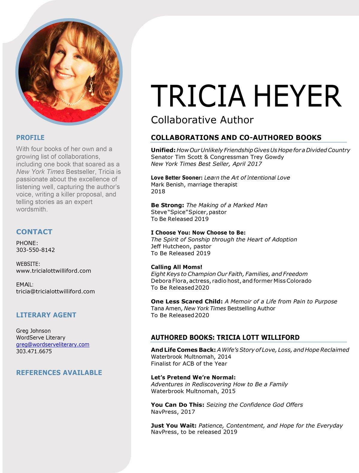 Tricia-Heyer-Collaborative-Author-CV