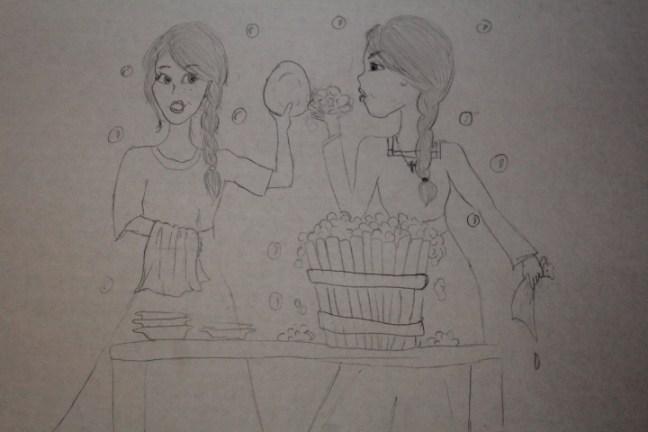 Hannah Rodes - Sketch 1
